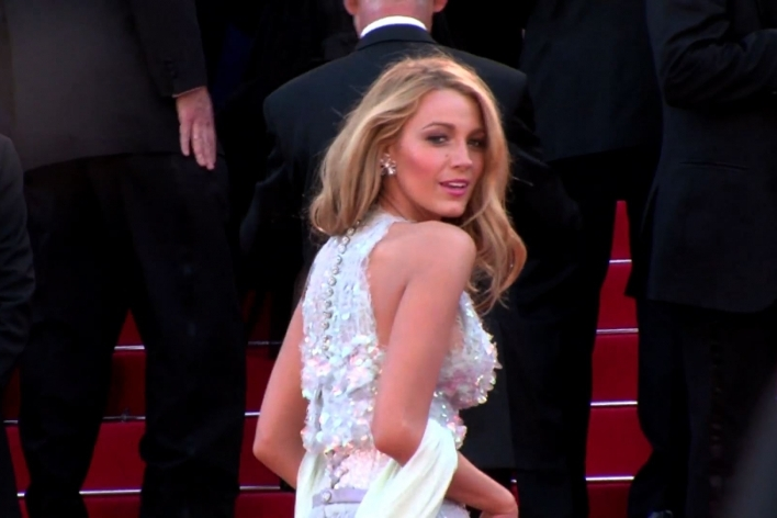 Blake Lively at Cannes in Chanel
