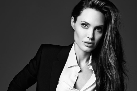 Angelina Jolie for Elle
