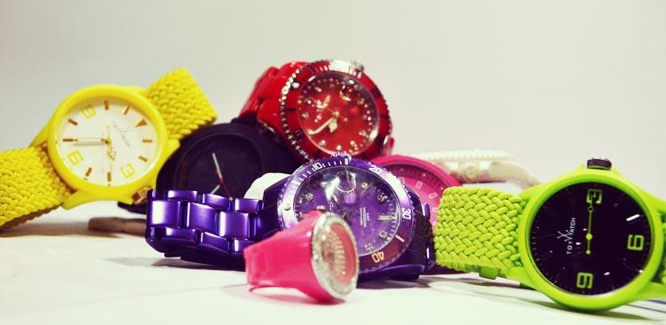 Toy Watch Colour Wrist Watch Trend