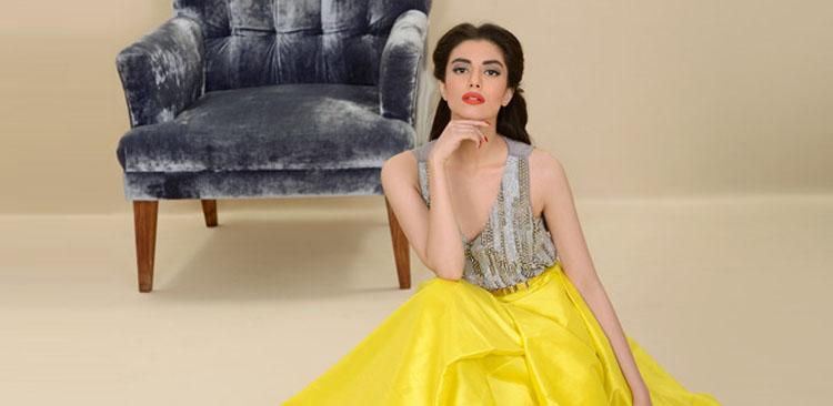 Zara Peerzada in Muse Yellow Skirt
