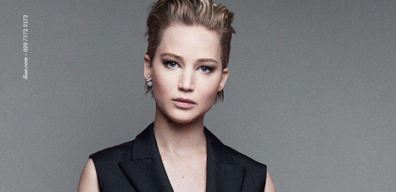 Jenniwfer Lawrence Miss Dior