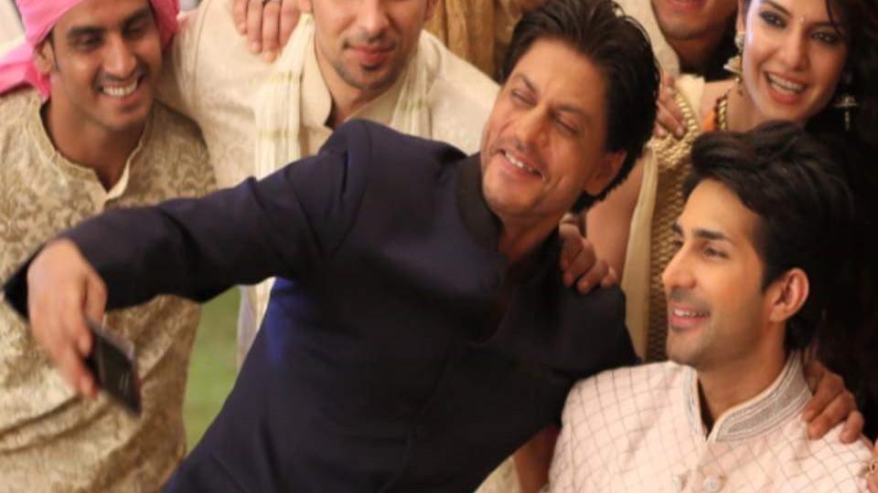 Shahrukh Khan and Adeel Chaudhry