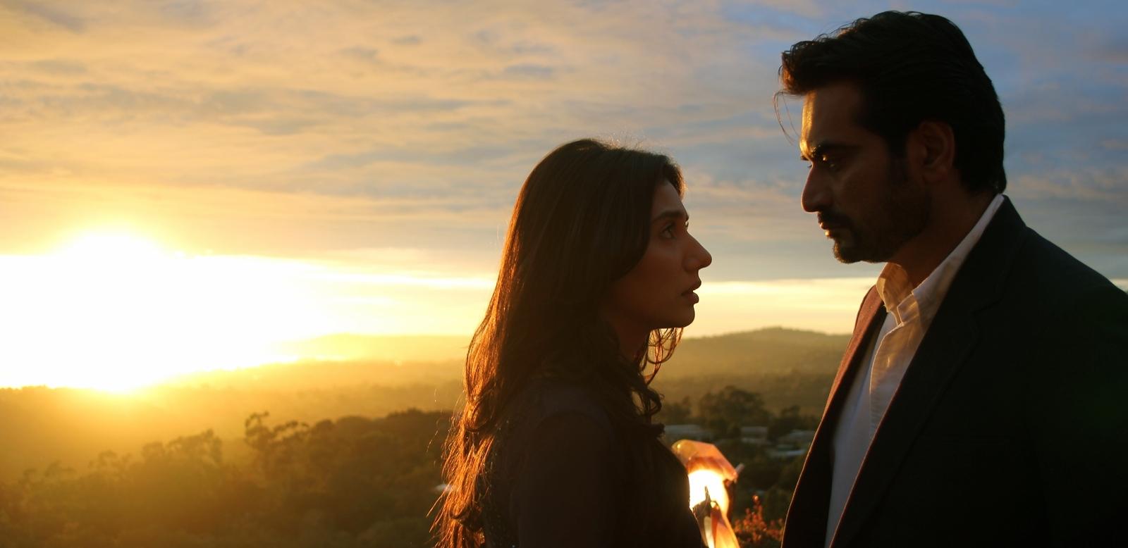 Mahira Khan and Humanyun Saeed